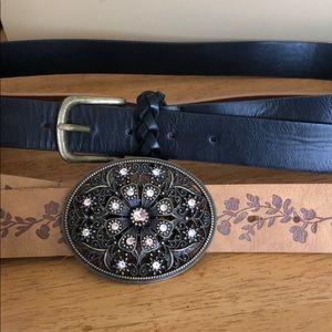 Two belts!